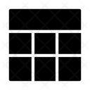 Layout Dashboard Grid Icon
