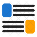 Layout Webpage Wireframe Icon