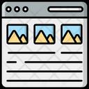 Layout Website Layout Web Layout Icon