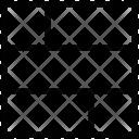 Layout Design Web Icon