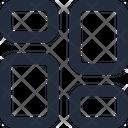 Layout masonry Icon
