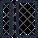 Layout sidebar left Icon