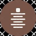 Layouts Alignment Arrange Icon