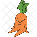 Lazy Carrot Icon