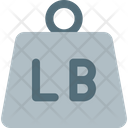 Lb Weight Weight Scale Icon