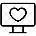 Lcd Screen Heart Icon