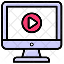 Lcd Music Video Video Songs Icon