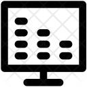 Lcd Tv Display Icon