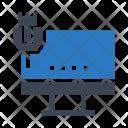Lcd Monitor Usb Icon