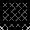 Lcd Tv Monitor Icon