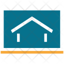 Lcd Screen House Icon