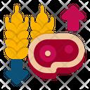 Lchf Diet Meat Diet Diet Icon