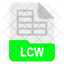 Lcw file Icon