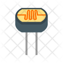 Light Dependent Resistor Icon