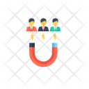 Magnetism Customer Attraction Icon