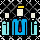 Leader Businessman Business Icon