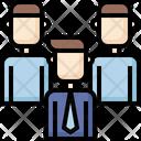 Boss Leader Teamwork Icon