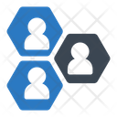 Group Network Connection Icon
