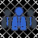 Leader Leadership Group Icon