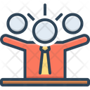 Leader Supervisor Commander Icon