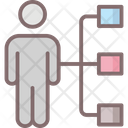 Leader Business Connection Icon