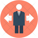 Leader Manager Man Icon