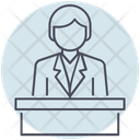 Business Leader Boss Icon