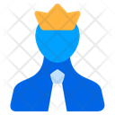 Leader Boss Crown Icon