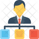 Leader Manager People Icon