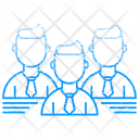 Leadership Team Group Icon