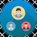 Leadership Organization Team Icon