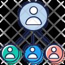 Leadership Team Leader Organization Icon