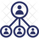 Leadership Organization Administration Icon