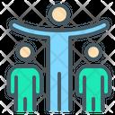 Leadership Influence Team Icon