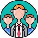 Leadership Manager Team Leader Icon