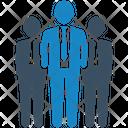 Businessman Leader Leadership Icon
