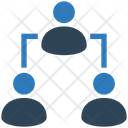 Leadership Connection Business Icon