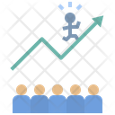 Leadership Success Difference Icon