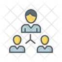 Leadership Team Structure Icon