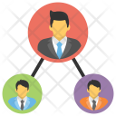 Leadership Team Leader Icon