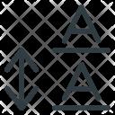 Leading Type Font Icon