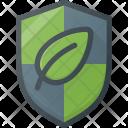 Leaf Protect Nature Icon