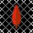 Leaf Falling Leaf Autumn Leaf Icon
