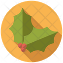 Holly Leaves Icon