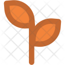 Leaf Branches Plant Icon