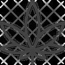 Marijuana Cannabis Leaf Icon