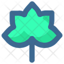 Thanksgiving Dry Leaf Icon