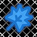 Mapple Leaf Fall Icon