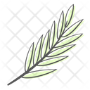 Leaf Bamboo Branch Icon