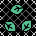 Eco Leaf Green Icon